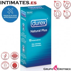 Natural Plus 12 uds. · Durex