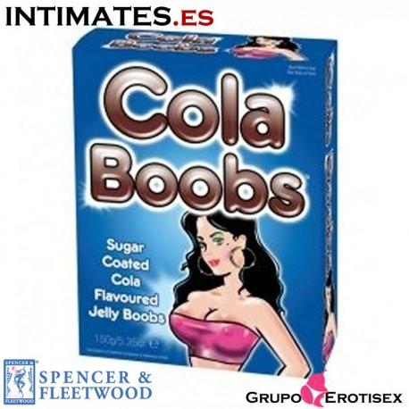 """Cola Boobs · Tetas de gominola de Spencer & Fleetwood, que puedes adquirir en intimates.es """"Tu Personal Shopper Erótico Online"""""""