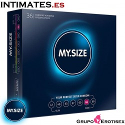 My Size 64 · Preservativos 36 Uds