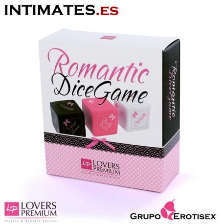 "Romantic DiceGame de Lovers Premium, que puedes adquirir en intimates.es ""Tu Personal Shopper Erótico Online"""