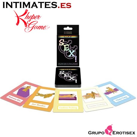 Sexo gay! · Juego de cartas · Kheper Games