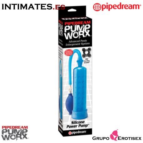 """Silicone Power Pump · Pump Work by Pipedream, que puedes adquirir en intimates.es """"Tu Personal Shopper Erótico Online"""""""