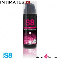 S8 Tightening gel anti age · Gel de estrechamiento vaginal · Stimul8