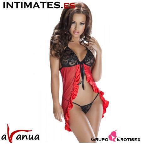 Lisa · Picardias rojo y negro · Avanua