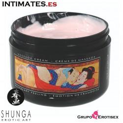 Tiernos Movimientos - Emoción de Frambuesa · Crema de masaje · Shunga