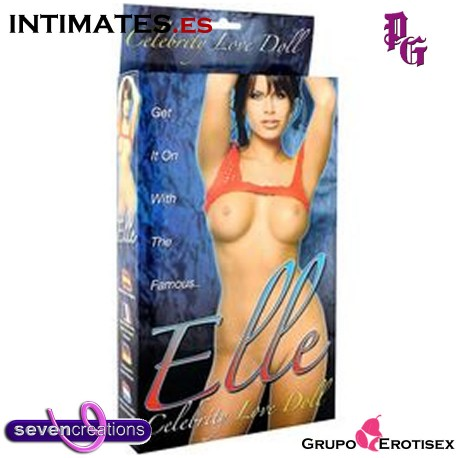 Elle Celebrity Love Doll · Muñeca hinchable · Seven Creations
