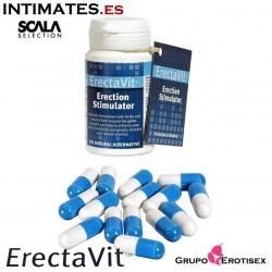 ErectaVit™ 15 Caps · Erecciones más intensas · Scala