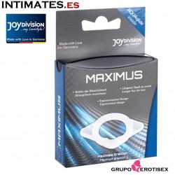 Maximus XS · Prolonga la erección y retrasa la eyaculación · JoyDivision