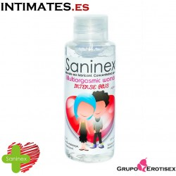 Multiorgasmic woman · Intense Plus 100ml · Saninex