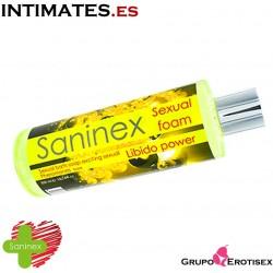 Libido power Sexual foam · Gel de baño · Saninex