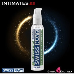 All Natural Lubricant · Lubricante Premium 118ml · Swiss Navy