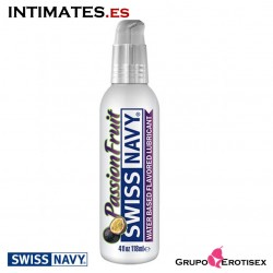 Passion Fruit · Lubricante Premium con sabor 118ml · Swiss Navy