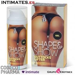 3B Shape & Show · Reafirmante nalgas y muslos · Cobeco