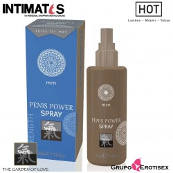 Penis Power Spray · Potenciador de la erección 30ml · Shiatsu