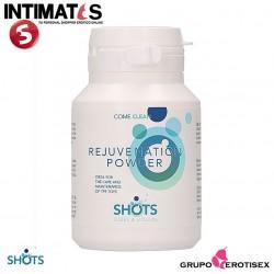 Rejuvenation Powder · Polvo regenereador · Shots