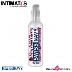 Very Wild Cherry · Lubricante Premium con sabor 118ml · Swiss Navy