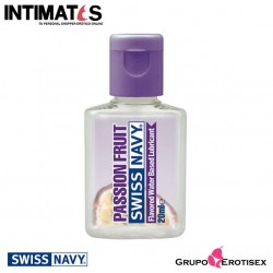 Passion Fruit · Lubricante Premium con sabor 20ml · Swiss Navy