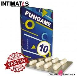 Fungame · Cápsulas vigorizantes · 10 cap.