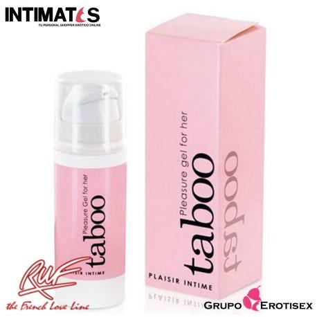 """Taboo ♀ · Placer para ella · Ruf, que puedes adquirir en intimates.es """"Tu Personal Shopper Erótico Online"""""""