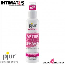After You Shave · Calmante e hidratante · Pjur Woman
