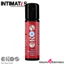 Sensation & Care Woman 100 ml · Lubricante acuoso · Eros
