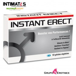 Instant Erect · Capsulas vigorizantes · 10-cap · Nutri Expert