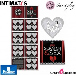 Scratch & Sex · Juegos de parejas gay · Secret Play