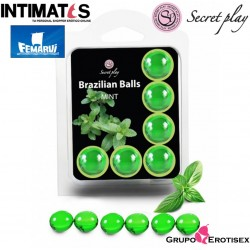 Brazilian Balls Menta · Set 6 uds.· Secret Play