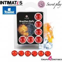 Brazilian Balls Hot & Cold · Set 6 uds.· Secret Play