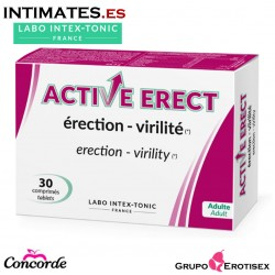 Active Erect · Capsulas vigorizantes · 30c. · Labo Intex-Tonic