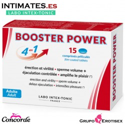Booster Power 4 en 1 · Capsulas vigorizantes · 15c. · Labo Intex-Tonic