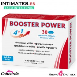 Booster Power 4 en 1 · Capsulas vigorizantes · 30c. · Labo Intex-Tonic