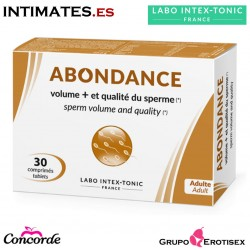 Abondance · Aumenta el volumen y calidad del esperma · Labo Intex-Tonic