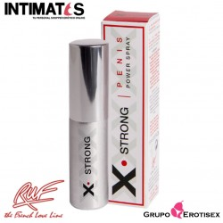 X- Strong · Gel en spray para potenciar la erección · Ruf