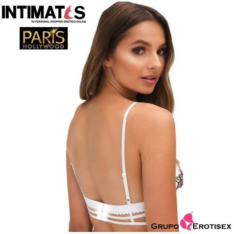 """R80501 · Sujetador blanco · Paris Hollywood, que puedes adquirir en intimates.es """"Tu Personal Shopper Erótico Online"""""""