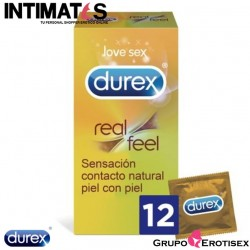 Real Feel · 12 Preservativos · Durex