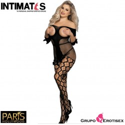 H-3159 · Sexy Bodystocking negro · Paris Hollywood