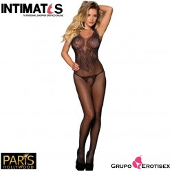 H-3245 · Sexy Bodystocking negro · Paris Hollywood