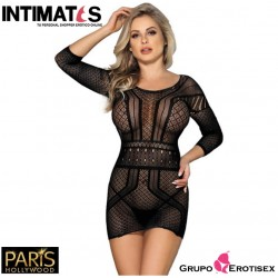 H-3192 · Sexy vestido negro · Paris Hollywood