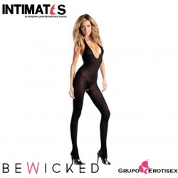 BWB22B · Sexy Bodystocking negro · Be Wicked