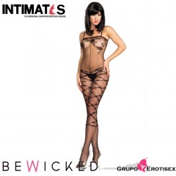BWB98 · Sexy Bodystocking negro · Be Wicked