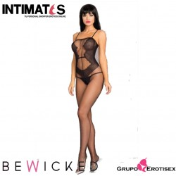 BWB95 · Sexy Bodystocking negro · Be Wicked