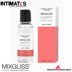Happy · Lubricante a Base de Silicona 50 ml · Mixgliss