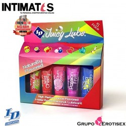 ID Juicy Lube 12 ml · Surtido de 5 lubricantes variados