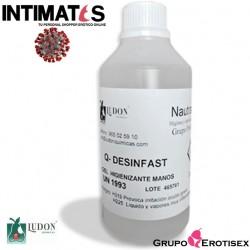 Q-Desinfast · Gel Higienizante Hidroalcohólico Manos 250 ml · Ludon