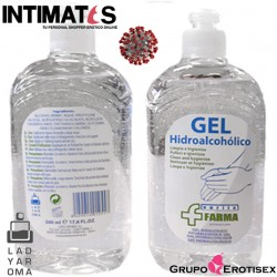 Verita farma · Gel Hidroalcohólico Manos 500 ml · Lady Aroma