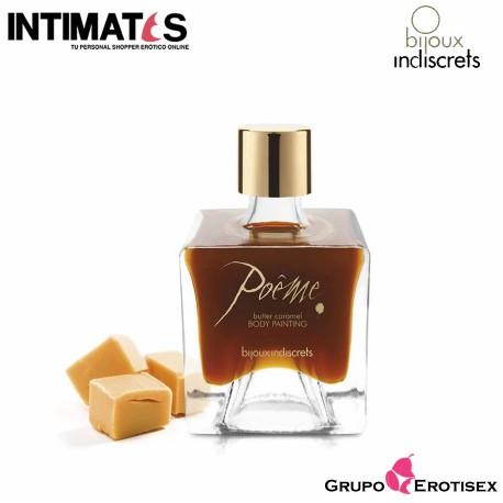 """Poême Caramelo · Pintura Corporal Besable · Bijoux, que puedes adquirir en intimates.es """"Tu Personal Shopper Erótico Online"""""""