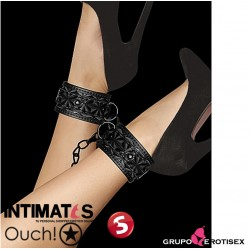 Luxury Ankle Cuffs · Esposas para tobillos negras · Ouch!
