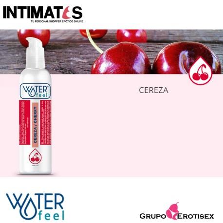 """Lubricante con aroma a Cereza 150ml · Waterfeel®, que puedes adquirir en intimates.es """"Tu Personal Shopper Erótico Online"""""""