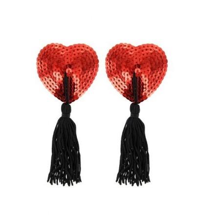 Pezoneras corazón rojo · Paris Hollywood